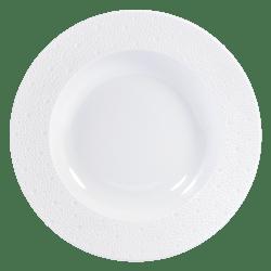 $63.00 Ecume White Rim Soup