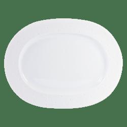 $328.00 Ecume White Oval Platter