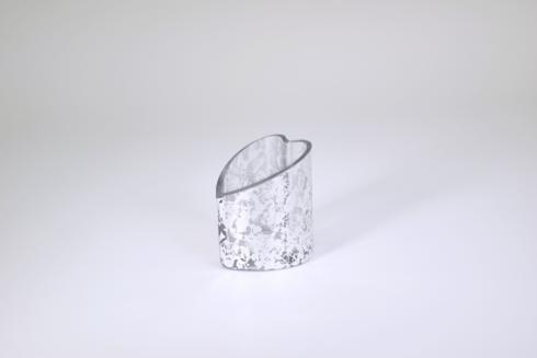 $39.95 Heart Bowl/Vase Silver Wabi