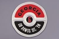 $32.95 UGA Melamine Round Sectional Platter