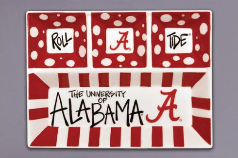 $49.95 Alabama 4-Section Platter