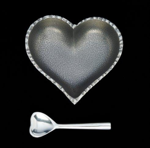 $28.95 Jazzy Silver Heart with Spoon