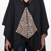 $65.00 Rainrap-Black & Leopard