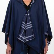 $65.00 Rainrap-Navy & Navy Plaid