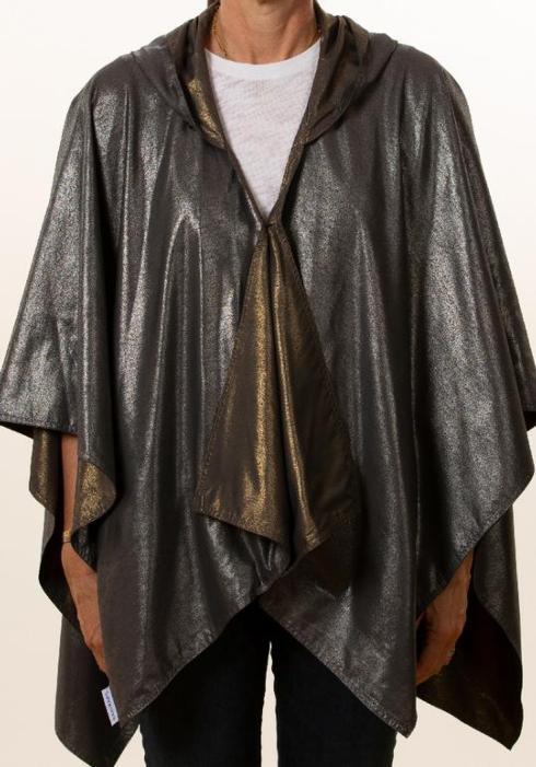 $65.00 Rainraps-Gray Silver Metallic & Dark Gray Gold Metallic