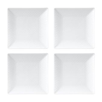 Wedgwood  Gio Mini Square Plates Set/4 $70.00