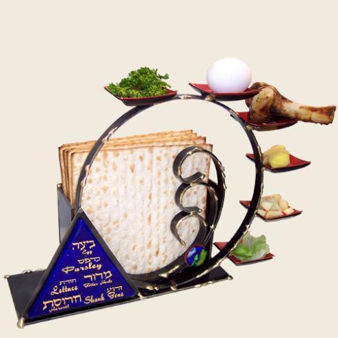 $225.00 Compact Combo Seder Plate