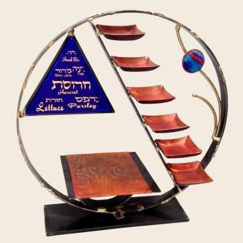 $250.00 Circle OF Life Seder Plate