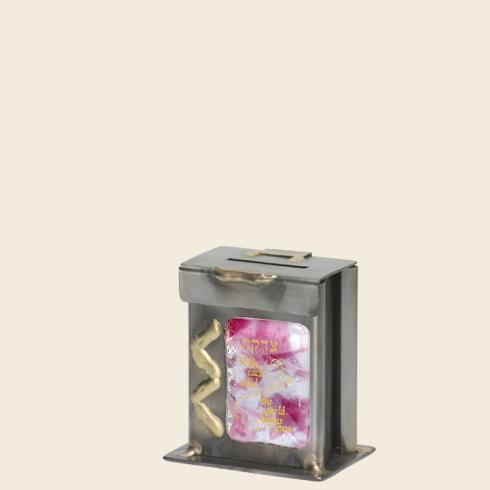 $50.00 Tzadakah Box-Baby Girl Pink
