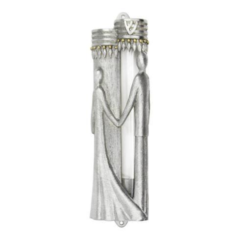 Quest Collection   Wedding Mezuzah w/Glass Insert $94.95