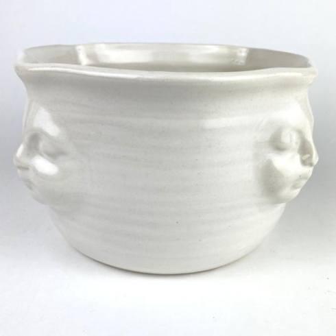 $100.00 Face Bowl White-Large