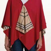 $65.00 Rainrap-Jester Red & Plaid