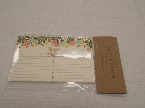 Frametech Exclusives   Herb Border Recipe Cards $27.50