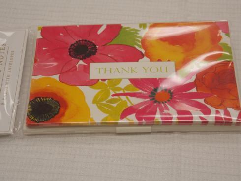$8.50 Bloom Thank You Notes