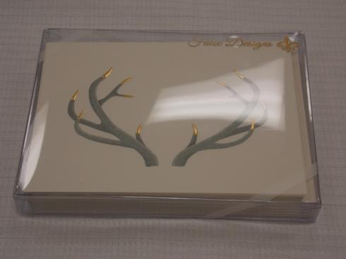 $17.50 Antlers Note Cards
