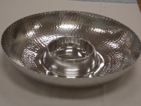 $37.50 Stainless Steel Chip & Dip