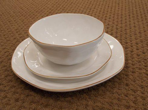 $32.50 Cantaria Salad Plate White