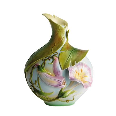 Vase, Morning Glory