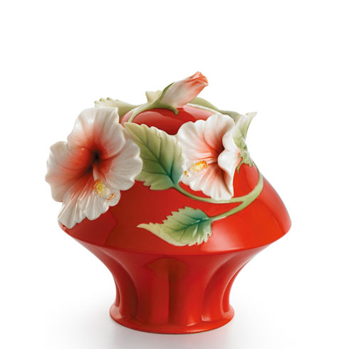 $156.00 Sugar Jar (red)