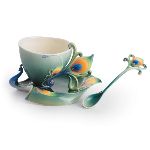 Cup, Saucer, Spoon Set