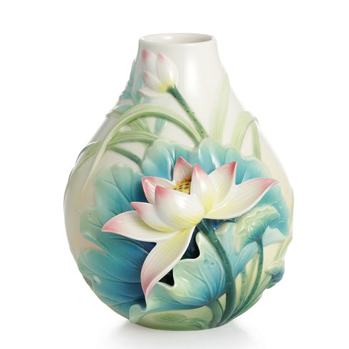 $240.00 Vase, Peaceful Lotus small