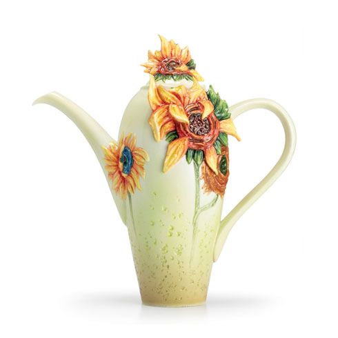 Teapot, Sunflowers