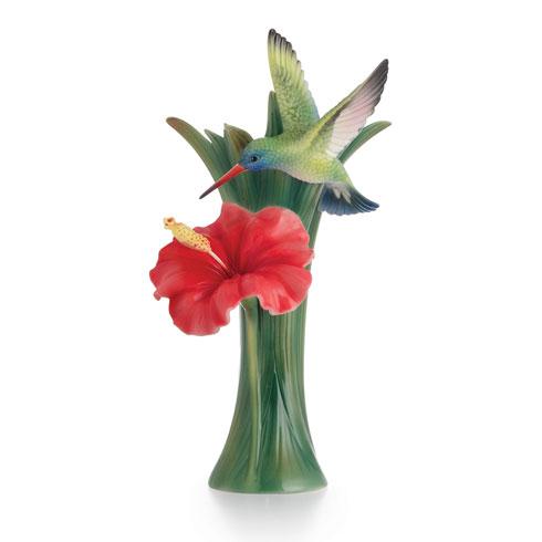 $198.00 Vase, Hummingbird small