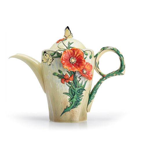 Teapot, Poppy
