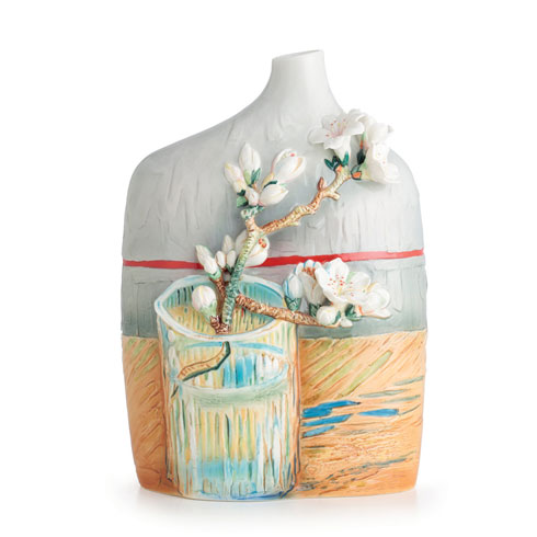 $550.00 Vase, Blossoming Almond