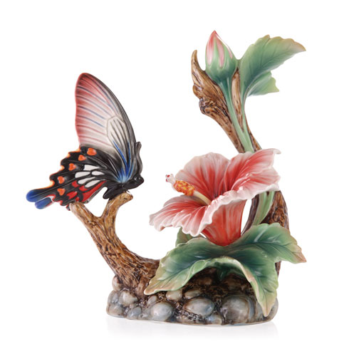 $308.00 Butterfly/Hibiscus