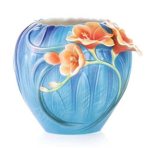 Vase, Freesia
