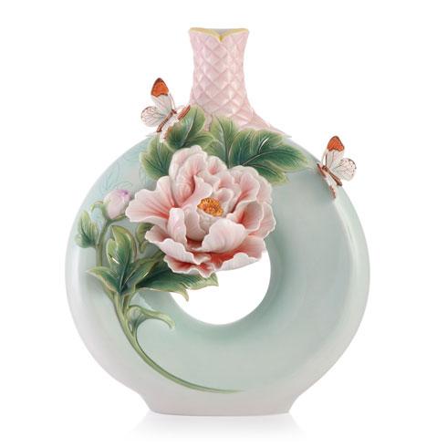 Vase, Peony