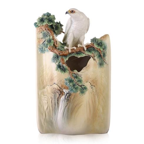 $2,827.00 Vase, White Falcon (LE 688)