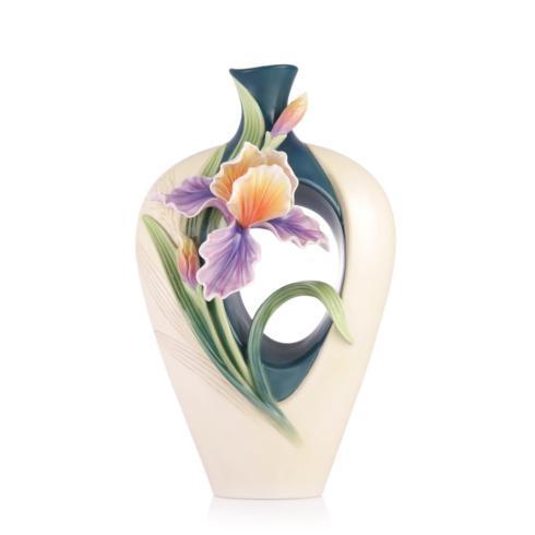 $627.00 Vase, Iris
