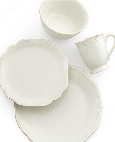 $29.00 French Perle white dinner plate