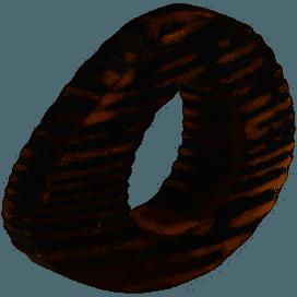 $9.00 Oval eye gray napkin ring