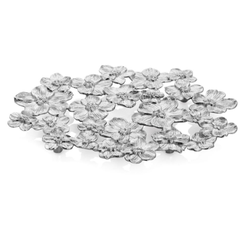 White orchid trivet collection with 1 products