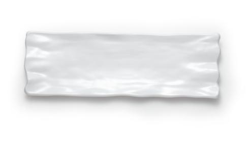 "$44.00 21x7"" Ruffle Platter"