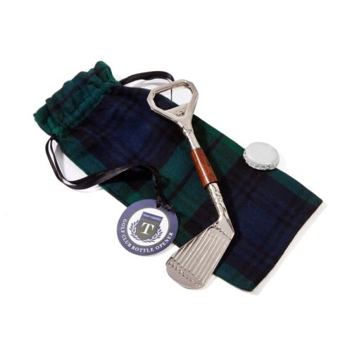 Fischer Evans Exclusives   Golf club bottle opener/pouch $21.00