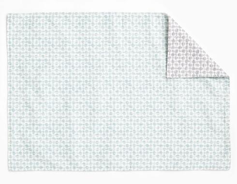 $15.00 Vietri Gray/Aqua mat