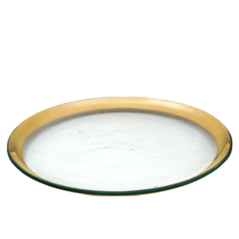 $67.00 Gold salad plate