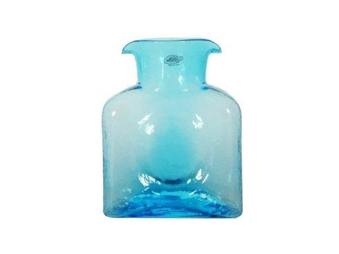Ice blue bottle