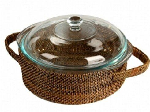 Round Holder W/Pyrex 2 Qt. Covered Casserole collection with 1 products
