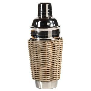 Fischer Evans Exclusives   Bahama cane and steel cocktail shaker $35.00