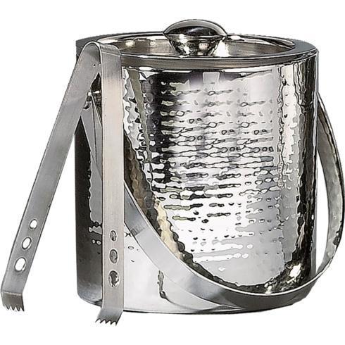 Fischer Evans Exclusives   Leeber 3qt hammered ice bucket $72.00
