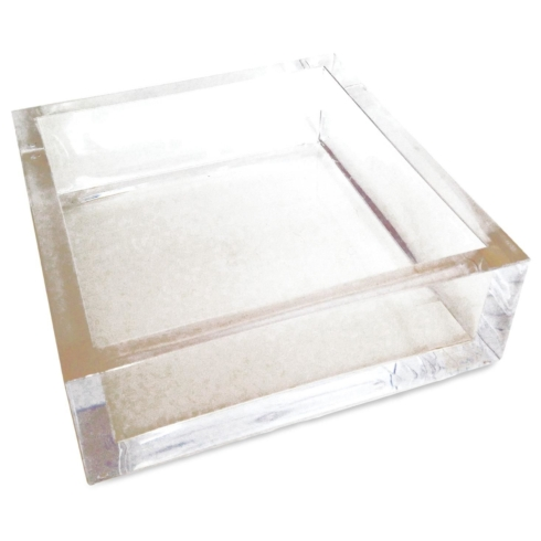 $22.50 Beverage napkin acrylic holder
