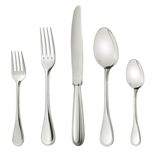 $1,350.00 Perles 5 Piece place setting