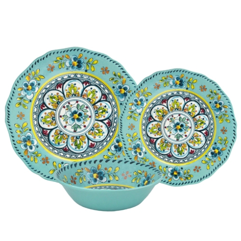Cereal bowl Turquoise Madrid collection with 1 products