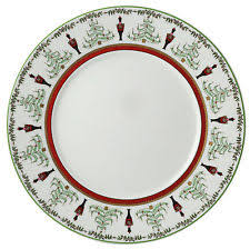 Accent salad plate-red band collection with 1 products