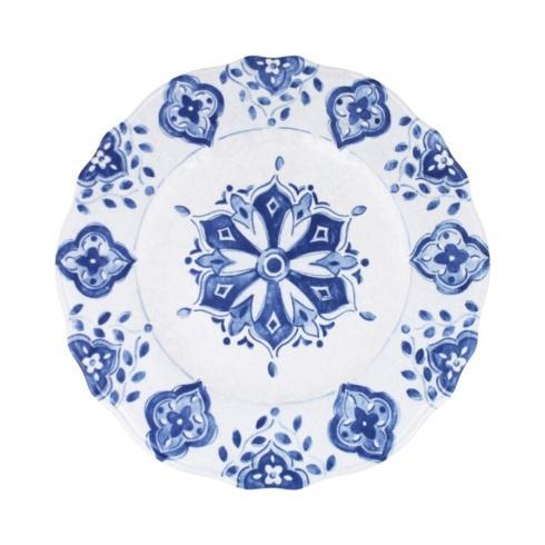 Moroccan Blue  Dinner Plate